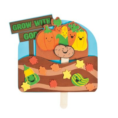 Christian Fall grown with God Harvest Crafts for kids