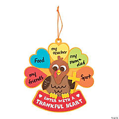Enter with a Thankful Heart Sign Craft Kit