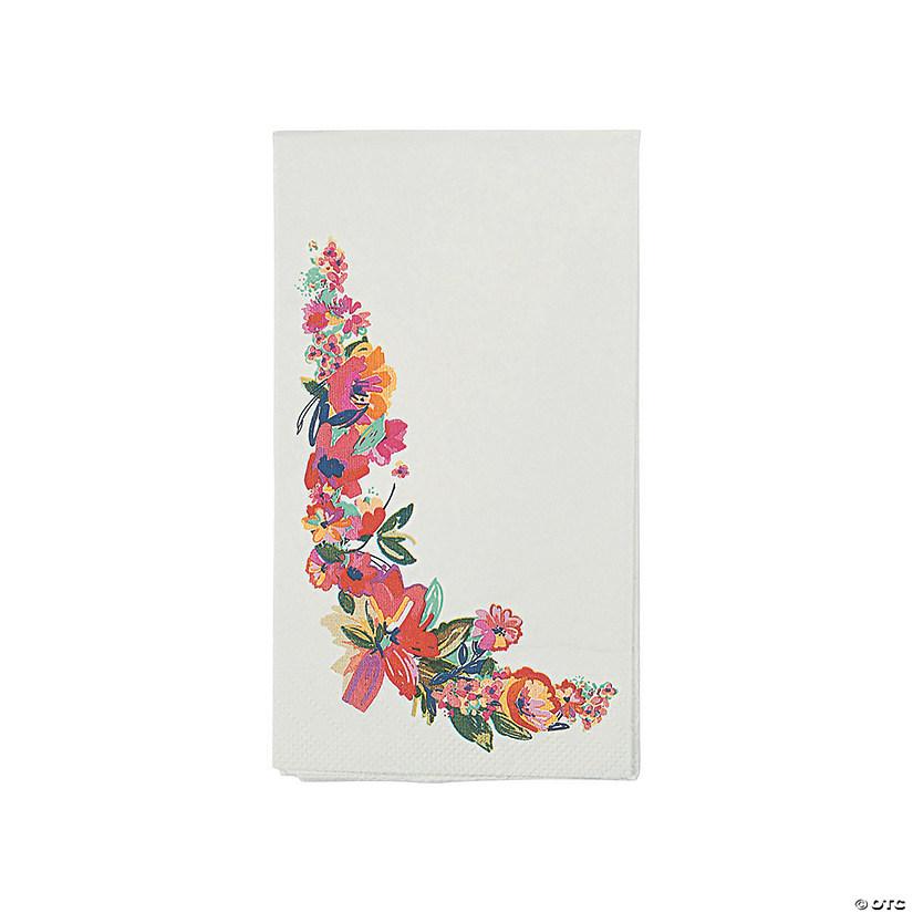 Bright floral dinner napkins mightylinksfo
