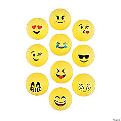 Bulk Vending Machine Emoji Table Tennis Balls - 2