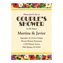 Quickview Image Of Personalized Cuban Wedding Shower Invitations With Sku13776937