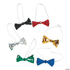 Sparkling Sequin Bow Ties