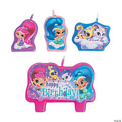 Nickelodeon™ Shimmer & Shine™ Birthday Candle Set