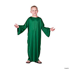 Kids' Small Green Nativity Gown