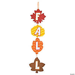 Fall Leaves Door Sign Craft Kit