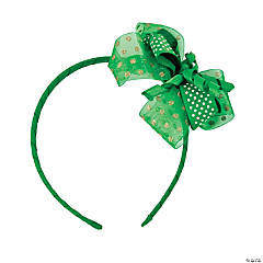 St. Patrick's Day Ribbon Headbands