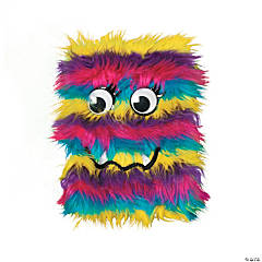 Plush Rainbow Monster Journal