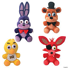 Plush Five Nights At Freddy&#8217;s<sup>&#8482;</sup> Characters