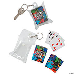 Mini Playing Cards Keychains