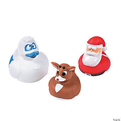 Rudolph the Red-Nosed Reindeer<sup>&#174;</sup> Rubber Duckies