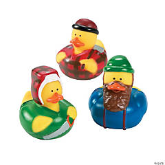 Lumberjack Rubber Duckies