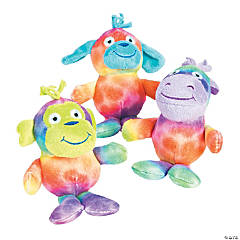 Rainbow Stuffed Animals