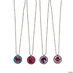Western Dog Tag Necklaces