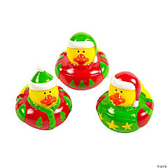 Ugly Christmas Sweater Rubber Duckies