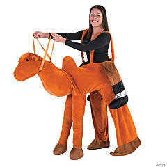 Adult's Plush Ride-a-Camel Costume