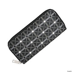 Black & White Zippered Wallets