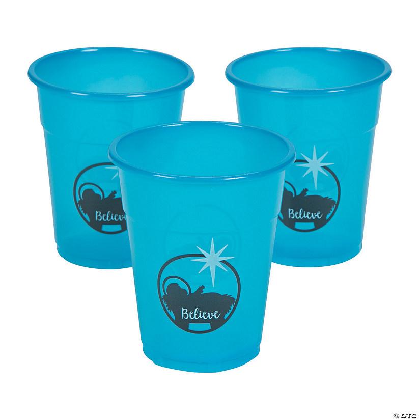 Nativity Disposable Plastic Cups