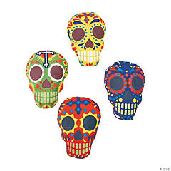 Plush Day of the Dead Skulls