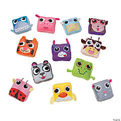 Plush Square Animal Assortment