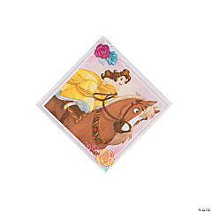 Beauty & the Beast Beverage Napkins