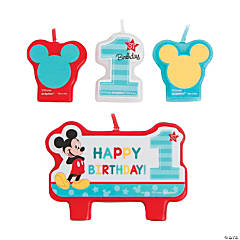 Disney® Mickey's Fun To Be One Candle Set