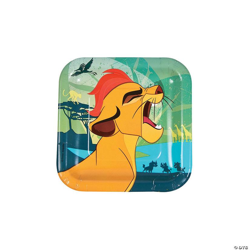 Disneyu0026#174; The Lion Guard Square Paper Dessert Plates  sc 1 st  Oriental Trading & Disney® The Lion Guard Square Paper Dessert Plates - Discontinued