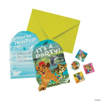 Disney The Lion Guard Invitations
