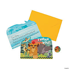 Disney® The Lion Guard Thank You Cards