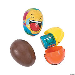 Choco Treasure® Emoji Surprise Eggs