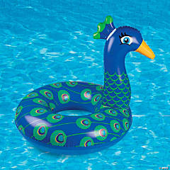 Big Mouth Giant Inflatable Peacock Pool Float