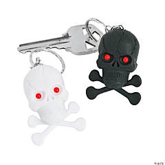Light-Up Pirate Keychains