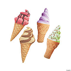 Plush Ice Cream Cones