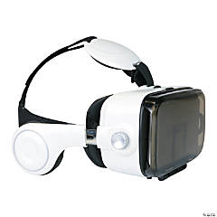 Virtual Reality Headset with Earphones