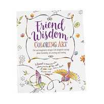 Quickview Image Of Friend Wisdom Adult Coloring Book With Sku13783793