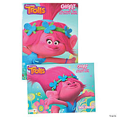 DreamWorks Trolls Giant Coloring & Activity Book