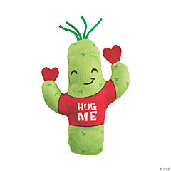 Valentine's Day Plush Cacti