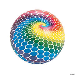 Spotted Rainbow Ball