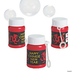 Chinese New Year Bubble Bottles