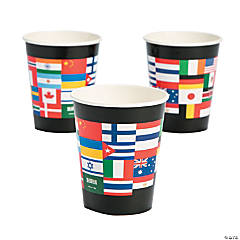 Flags of All Nations Cups