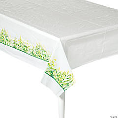 Spring Greenery Tablecloth