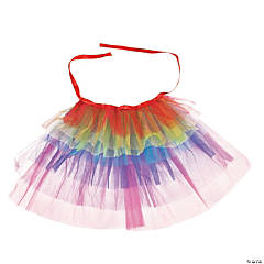 Adult's Rainbow Bustle