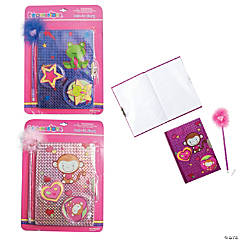 Cute Diary & Pen Set