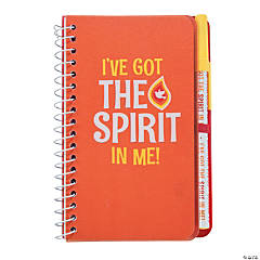 Joshua 1:9 Spiral Notebooks with Pen