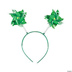 St. Patrick's Day Pinwheel Head Boppers