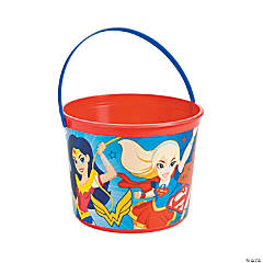 DC SuperHero Girls™ Plastic Favor Pail