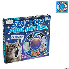 Inflatable Space Cat Pool Float