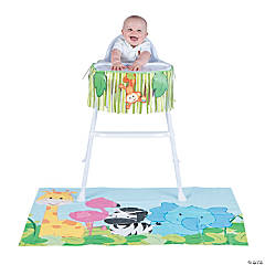 Zoo 1st Birthday High Chair Decorating Kit