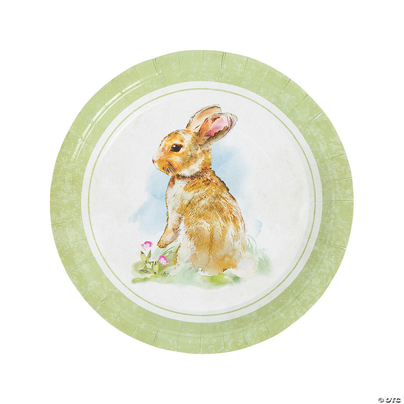 sc 1 st  Oriental Trading & Vintage Easter Dinner Paper Plates