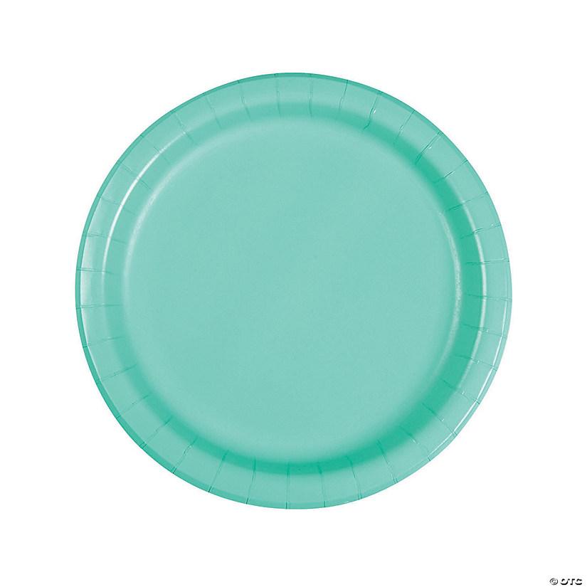 sc 1 st  Oriental Trading & Fresh Mint Green Round Dinner Paper Plates