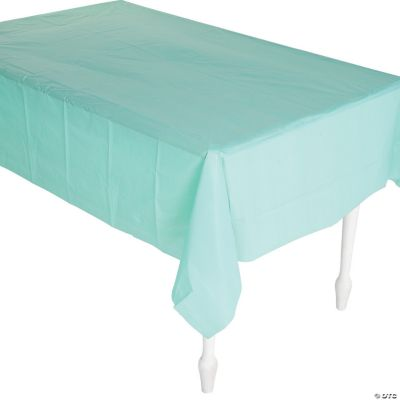 Fresh Mint Green Tablecloth